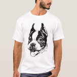 Camiseta de Boston Terrier