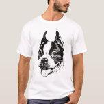 Camiseta de Boston Terrier