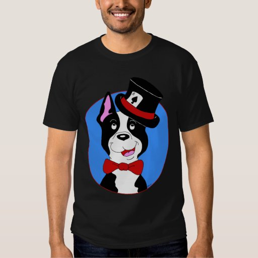 Camiseta de Boston Terrier Camisas