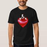 Camiseta de Boston Terrier del amor Playeras