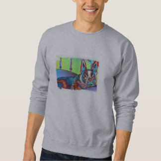 Camiseta de Boston Terrier - modificada para Sudadera