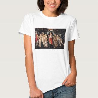 Camiseta de Botticelli Primavera Playeras
