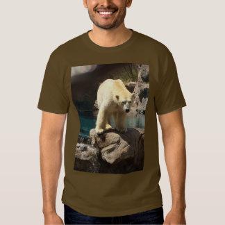 Camiseta de Brown del oso polar Poleras