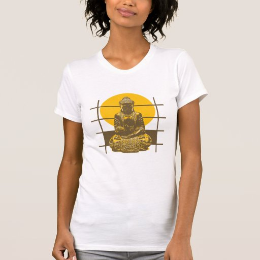 Camiseta de Buda Poleras
