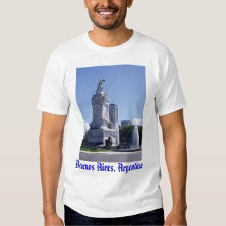 Camiseta de Buenos Aires, la Argentina Playeras