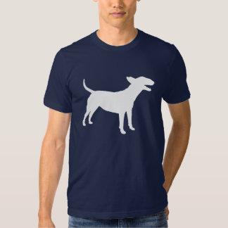 Camiseta de bull terrier del inglés poleras