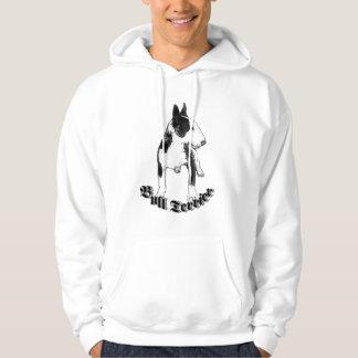 Camiseta de bull terrier sudaderas con capucha
