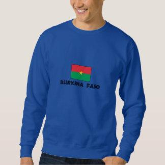 Camiseta de Burkina Faso Sudaderas Encapuchadas