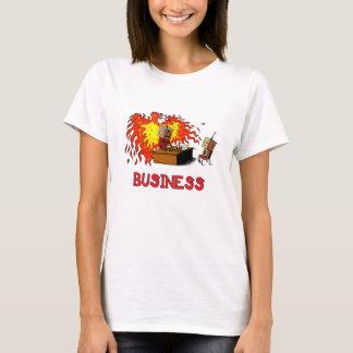 Camiseta de Businessbot Dudette