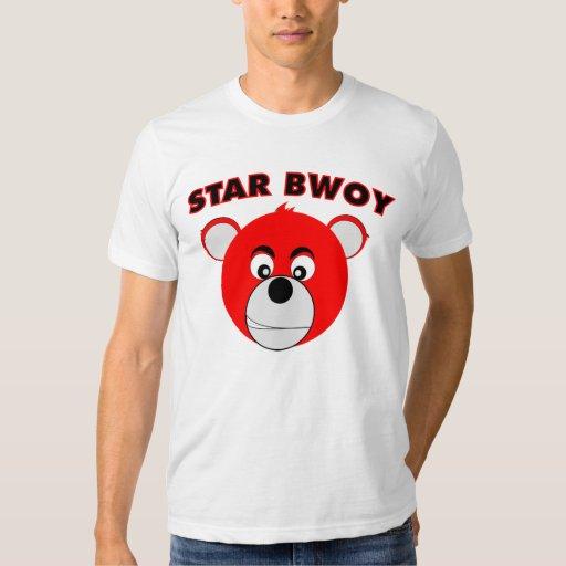 Camiseta de Bwoy de la estrella Playeras