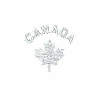 Camiseta de Canadá - arce blanco de Canadá Sudadera Bordada