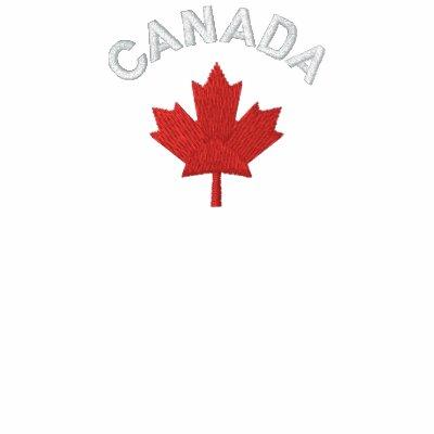 Camiseta de Canadá - camisa de Canadá del arce roj