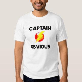 Camiseta de capitán Obvious Remeras