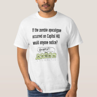 Camiseta de Capitol Hill de la apocalipsis del Remeras
