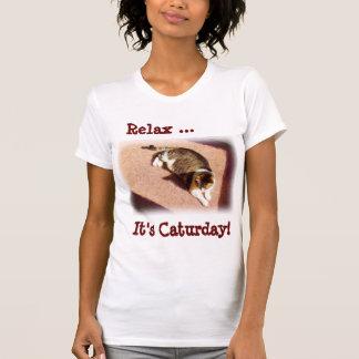Camiseta de Caturday Playera