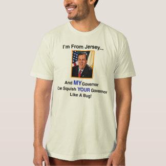 Camiseta de Chris Christie del gobernador Playera