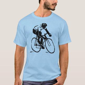 Camiseta de ciclo del jinete vectorizado de la