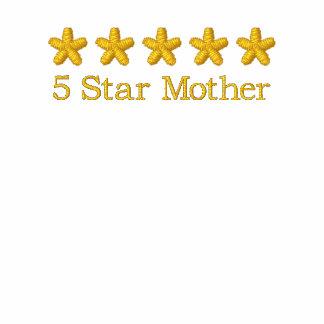 camiseta de cinco estrellas del premio de la madre