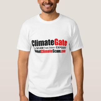 Camiseta de ClimateGate Poleras