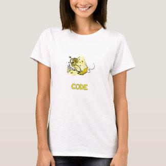 Camiseta de Codebot Dudette