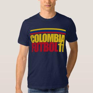 Camiseta de Colombia Futbol 11 Polera