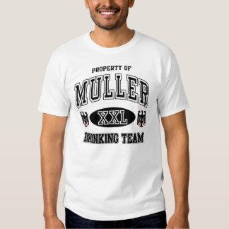 Camiseta de consumición del equipo del alemán de playeras