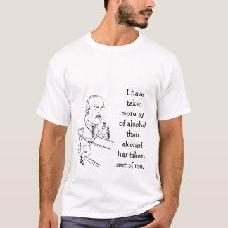 Camiseta de consumición divertida