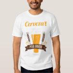 Camiseta de consumición divertida de la cerveza remera