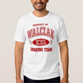 Camiseta de consumición polaca del equipo de remeras
