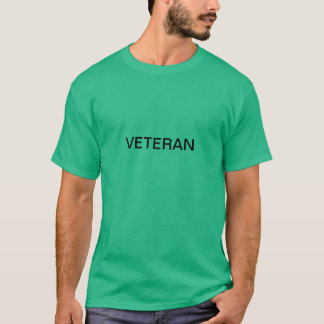 Camiseta de cosecha propia de los veteranos