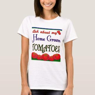 Camiseta de cosecha propia del lema del jardinero