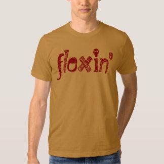 Camiseta de Cray Flexin de la palabra de argot Camisas