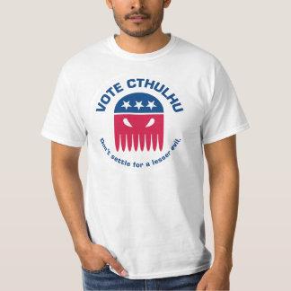 Camiseta de Cthulhu del voto Polera