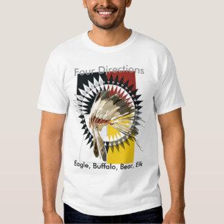 Camiseta de cuatro direcciones playeras