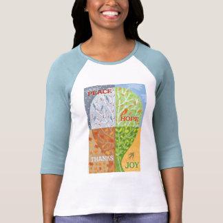 Camiseta de cuatro estaciones