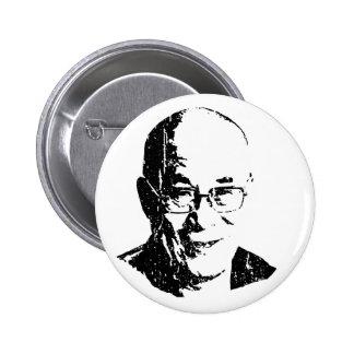 Camiseta de Dalai Lama Pin Redondo De 2 Pulgadas