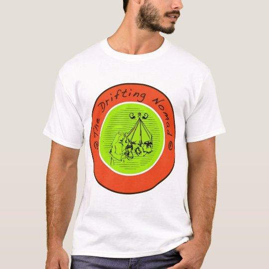 Camiseta de deriva de las señoras del nómada