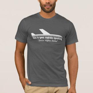 Camiseta de discurso del papá de la radiotelefonía