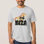 camiseta de DJ del diseño del sol del verano del Playeras