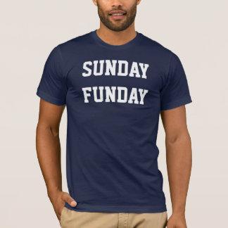 Camiseta de domingo Funday
