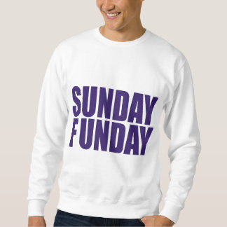 Camiseta de domingo Funday Sudadera