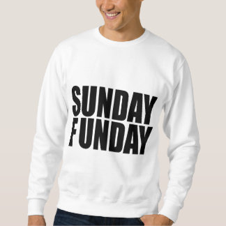 Camiseta de domingo Funday Sudadera Con Capucha