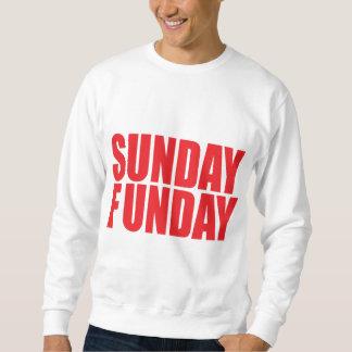 Camiseta de domingo Funday Sudaderas Encapuchadas