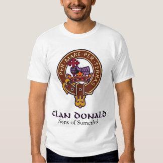 Camiseta de Donald del clan Poleras
