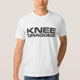 Camiseta de Dragger de la rodilla Remeras