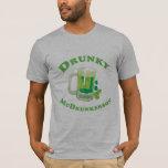 Camiseta de DRUNKY MCDRUNKERSON