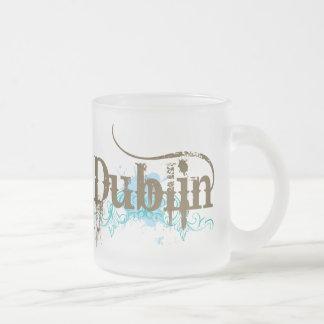 Camiseta de Dublín Irlanda Tazas De Café