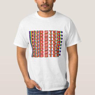 camiseta de Dubstep del arco iris 3D Playeras