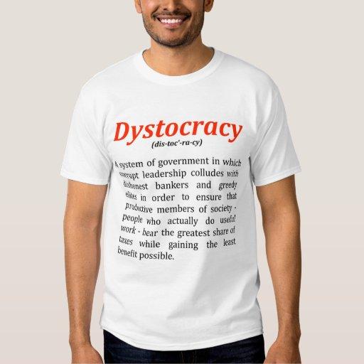 Camiseta de Dystocracy Camisas