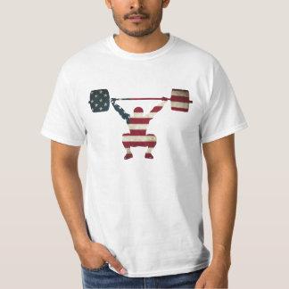 Camiseta de elevación olímpica de los E.E.U.U. Remera